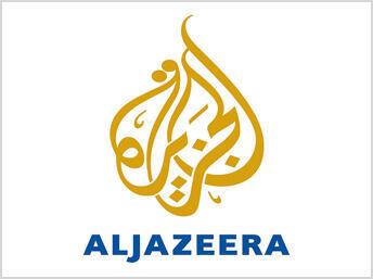 Logo de la chaine de télévision Al Jazira.