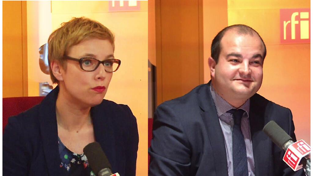 Clémentine Autain et David Rachline.