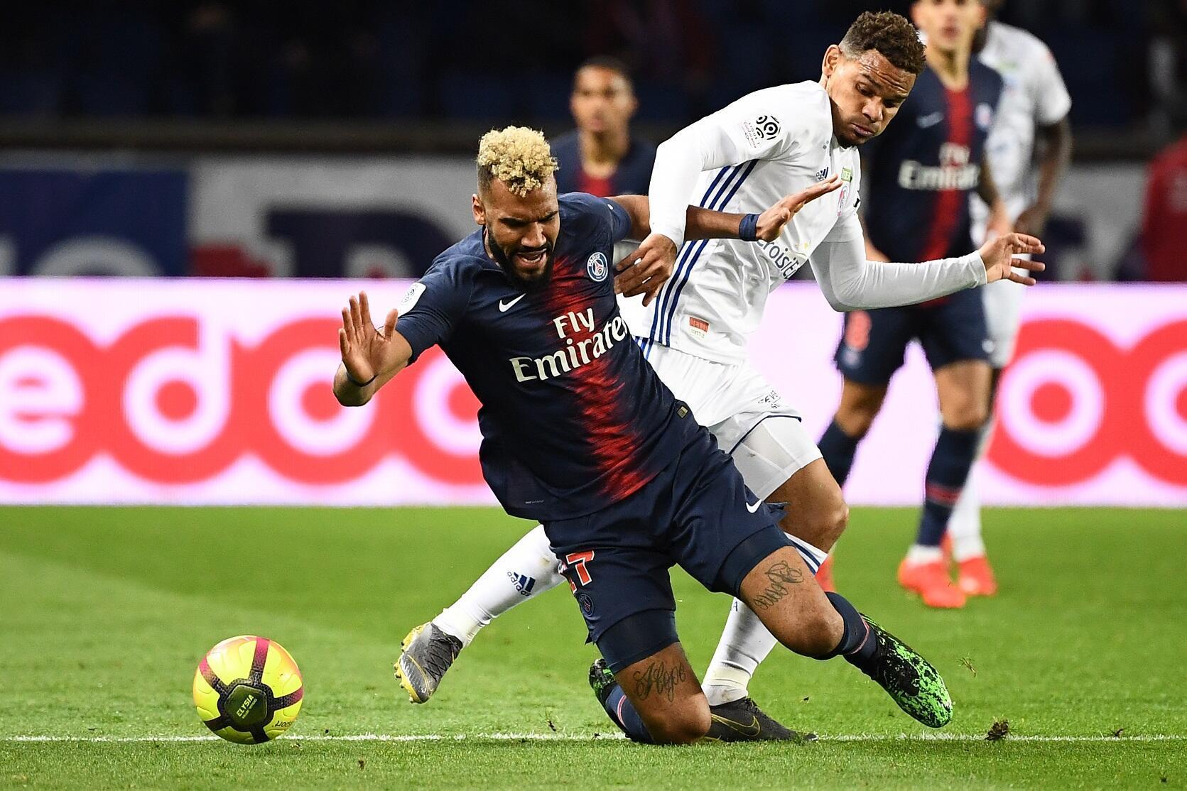 Eric Maxim Choupo-Moting a marqué lors de PSG-Strasbourg, le 7 avril 2019. Mais il a aussi manqué une occasion en or.