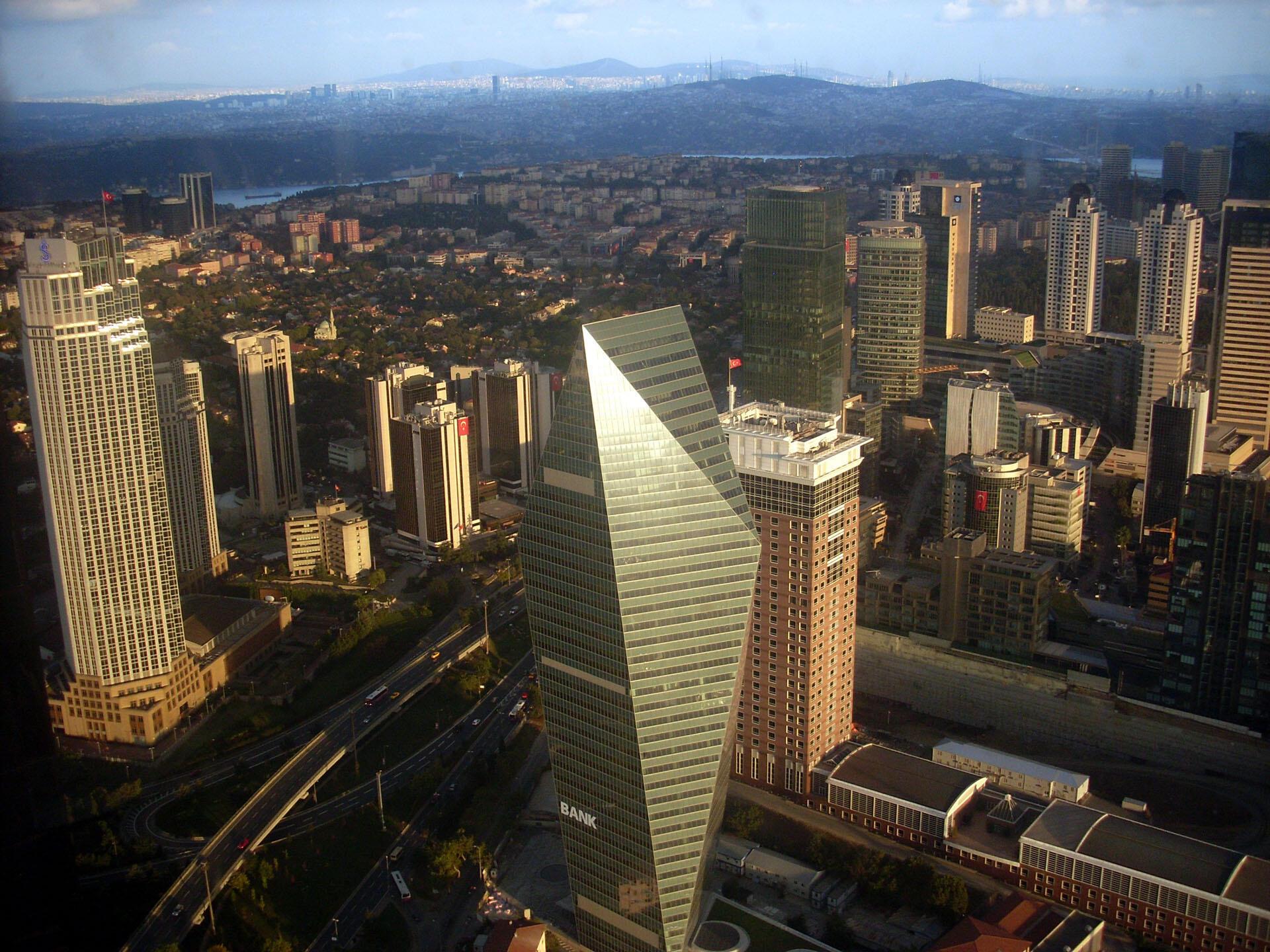 Vue de la ville d'Istanbul (image d'illustration).