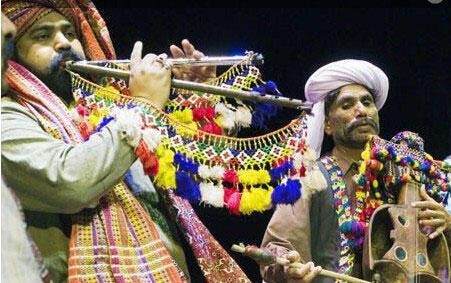 شعر و موسیقی پاکستان در تآتر شهر پاریس
