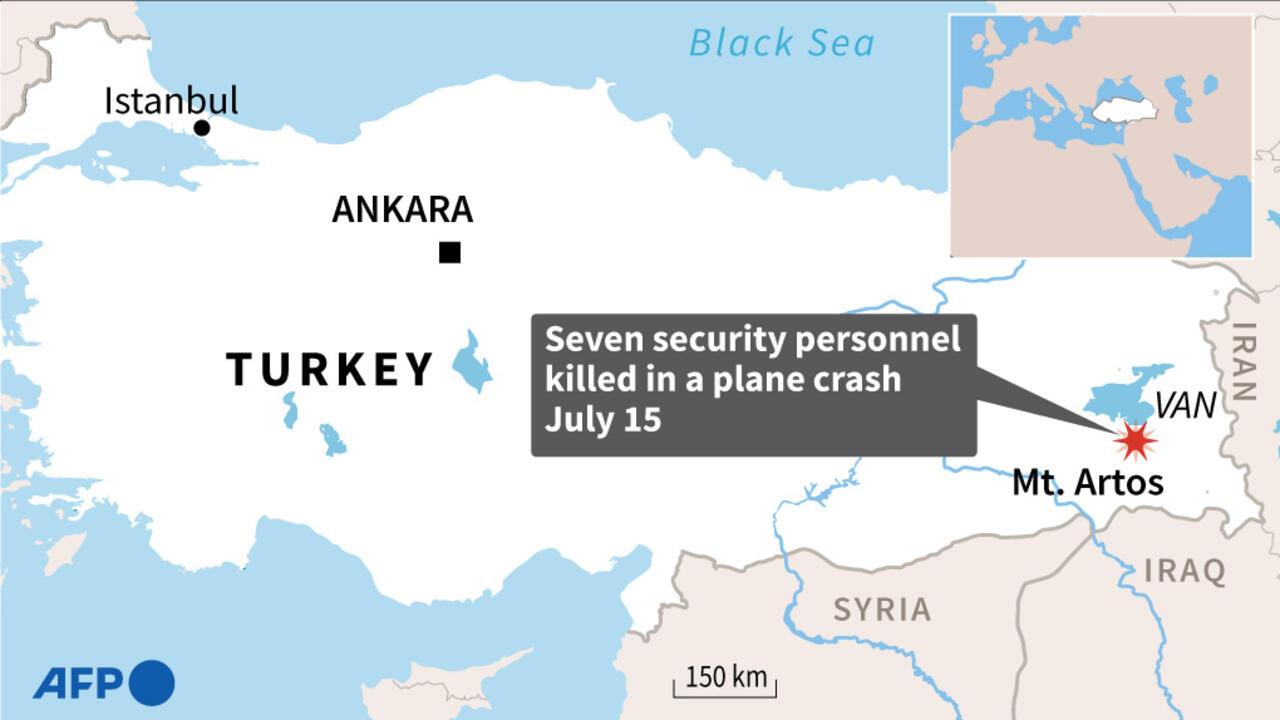 Seven Turkish security personnel killed in reconnaissance plane crash - RFI