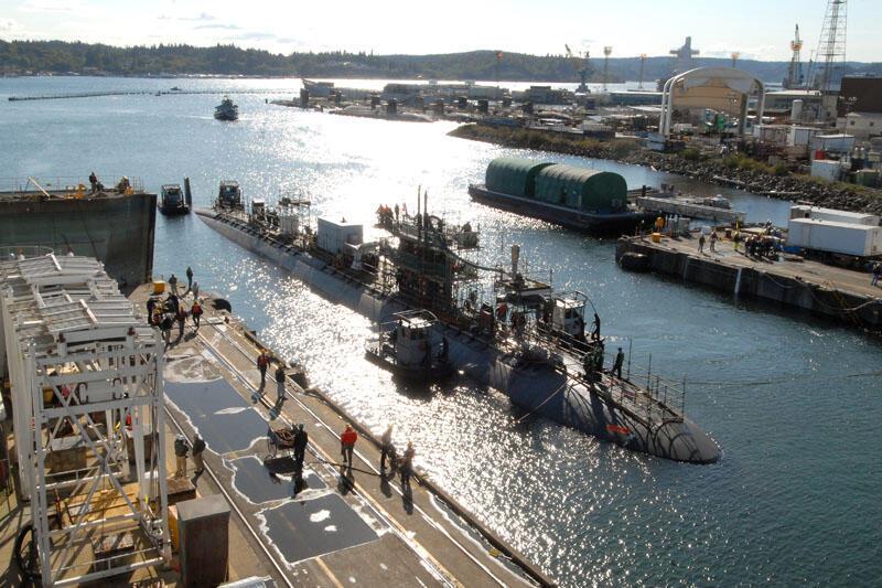Tàu ngầm USS San Francisco SSN-711 chuẩn bị rời cảng đến Hàn Quốc tập trận (DR)
