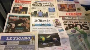Diários franceses 22/05/2015