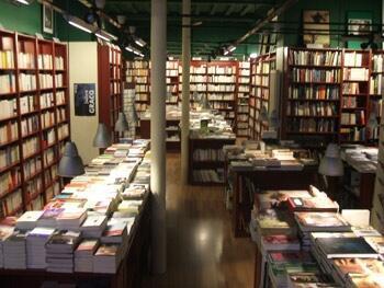 Книжная лавка «L'écume des pages »