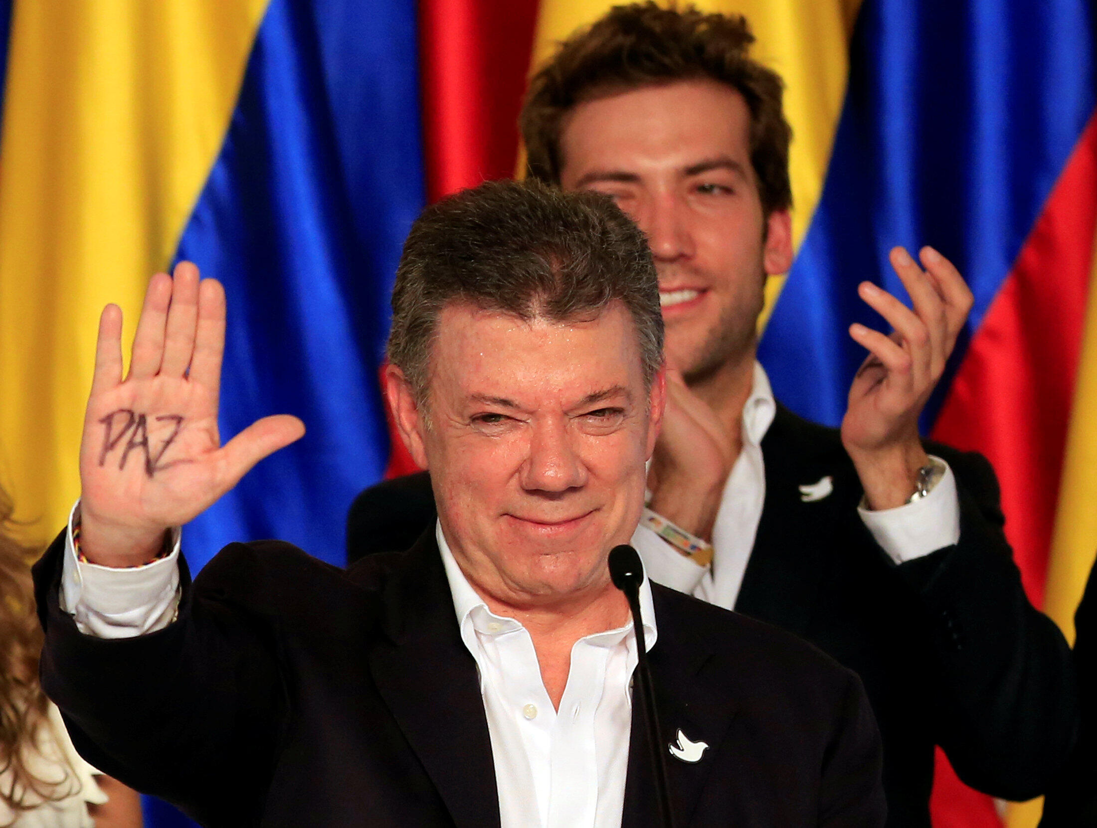 Президент Колумбии Хуан Мануэль Сантос