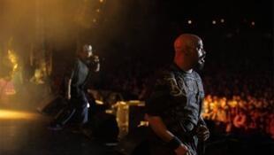 Cypress Hill on stage at Rock en Seine 2010