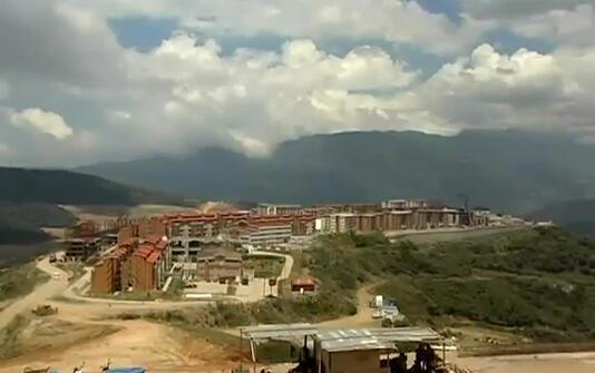 Une vue de la ville nouvelle de Ciudad Caribia.