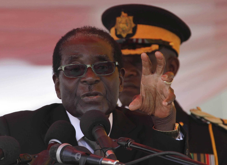 Robert Mugabe, Rais wa Zimbabwe Agosti 25 jijini Harare