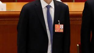 2018年3月5日,中國發改委副主任劉鶴出席全國人大會議開幕式。