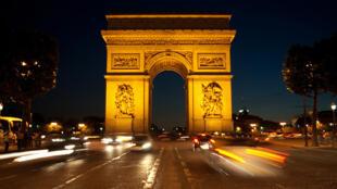 O Arco do Triunfo, um dos monumentos mais visitados de Paris!