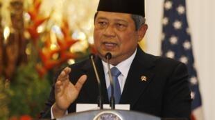 លោកប្រធានាធិបតីឥណ្ឌូនេស៊ី Susilo Bambang Yudhoyono.