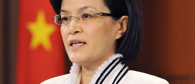 Phát ngôn viên bộ Ngoại giao TQ Khương Du (Reuters)