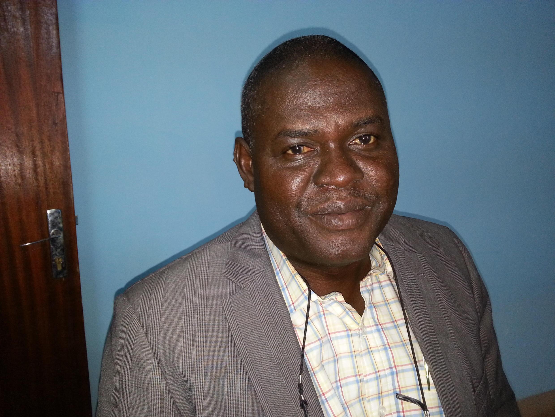 Evariste Zongo, coordinateur de l'association des éditeurs de journaux en langues nationales.