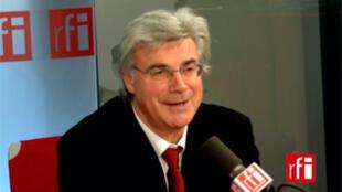 Patrick Le Hyarick, directeur de L'Humanité, député communiste européen.