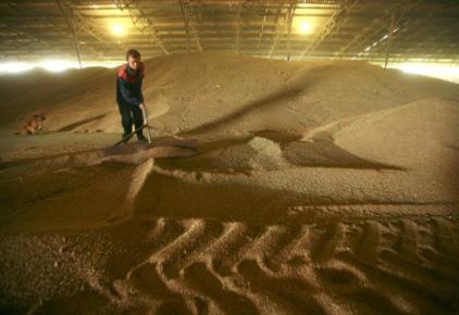 俄國西南部一處糧倉