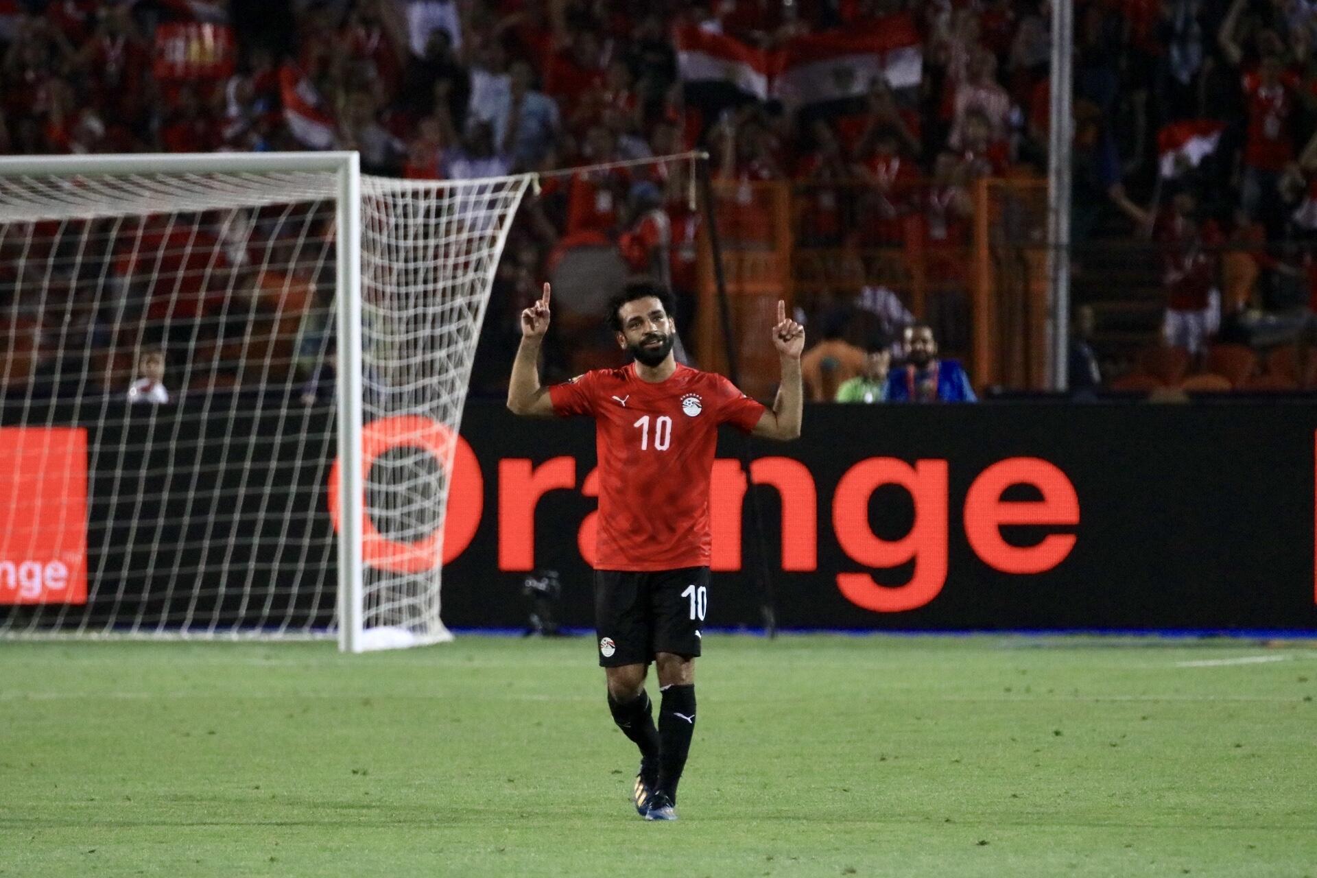 Mohamed Salah, l'attaquant-star de l'Égypte.