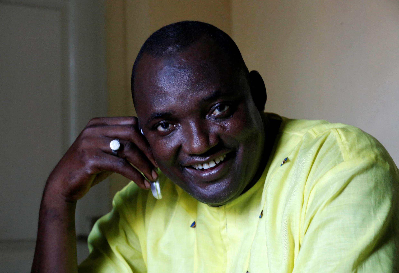 Gambie: le nouveau président élu (le 2 décembre) Adama Barrow.