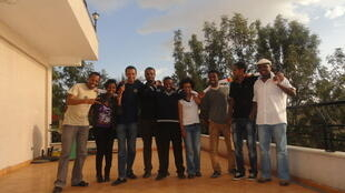 The founding members of Zone9 blogging collective in Ethiopia.