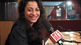 Marcela Roggeri en RFI.
