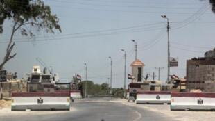 Randabauti ya jeshi katika mji wa Arish, Kaskazini mwa Sinaï, Julai 15 mwaka 2013.