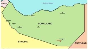 Le secteur de Dhumay où ont eu lieu les heurts entre deux clans au Somaliland.