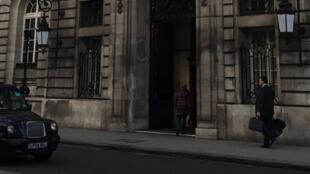 Le Royal Automobile Club de Londres, un des cinquante clubs privés de la capitale. Le RAC a lui fait le choix de la mixité.