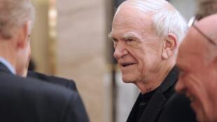 Milan Kundera, ici en novembre 2010.