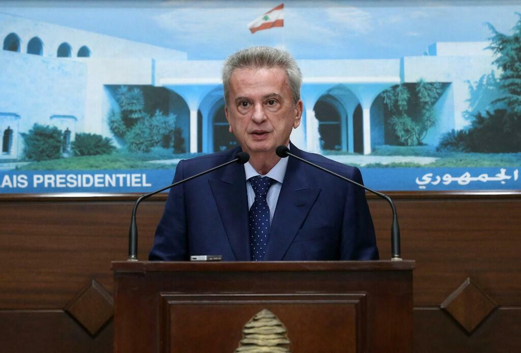Gwamnan babban bankin Lebanon Riad Salameh, 3 ga watan Yuni 2021