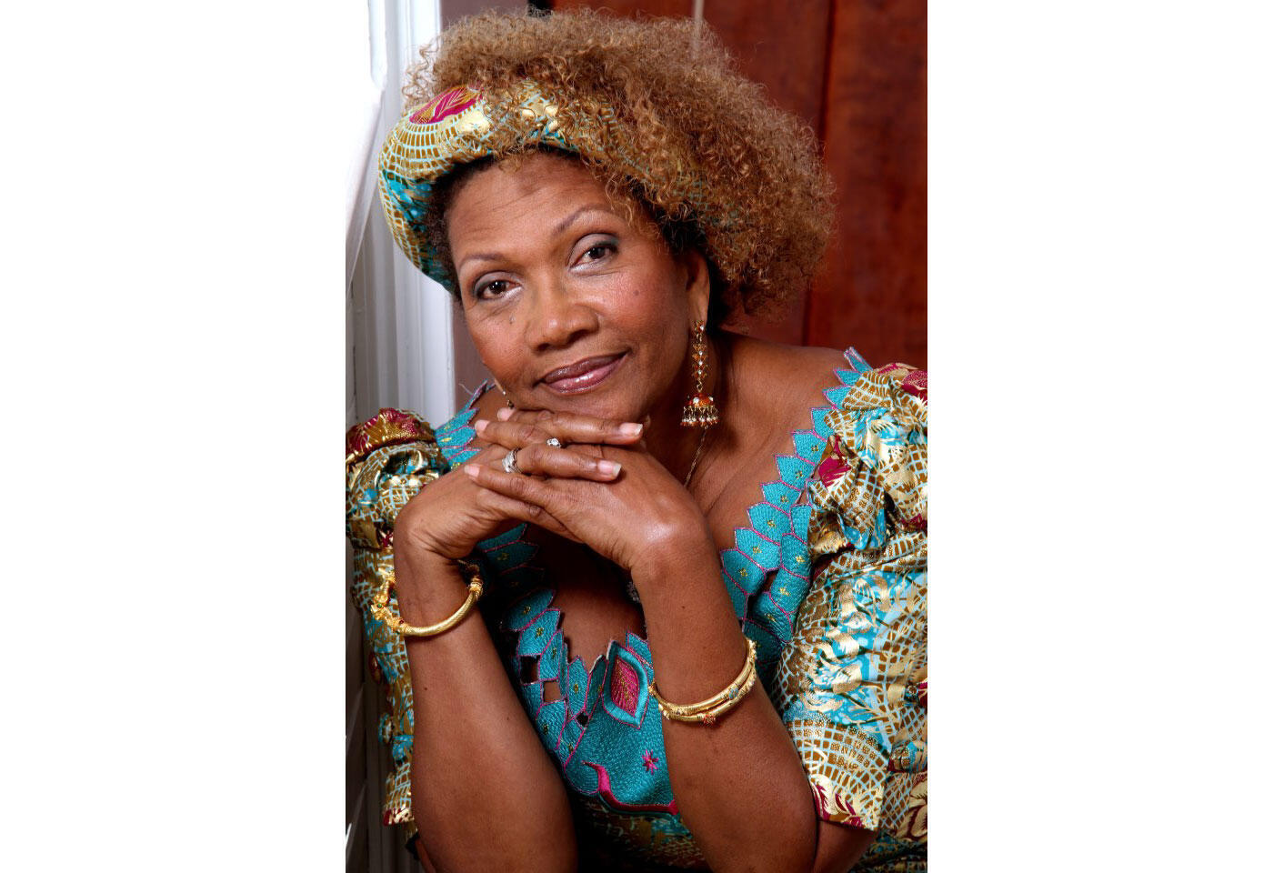 Portrait de Marcia Griffiths.