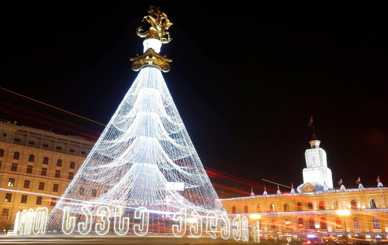 Предновогодний Тбилиси