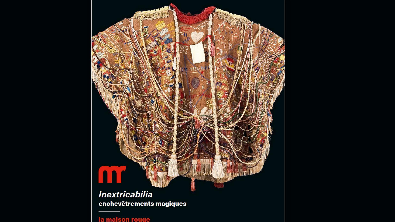 Manto de Arthur Bispo do Rosário foi escolhido para ilustrar cartaz da mostra Inextricabilia