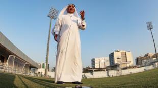Ex-Qatar striker Hassan Mattar pictured at Doha Stadium