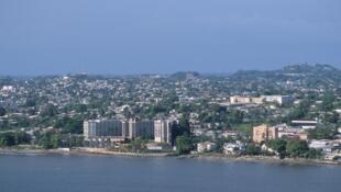 Vue de Libreville au Gabon.