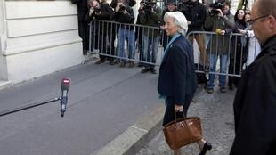 Christine Lagarde arrives at Paris court, 23 May