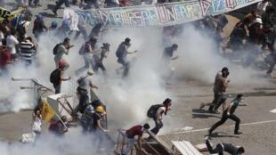 La place Taksim, 11 juin 2013.