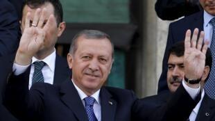 رجب طیب اردوغان، رییس جمهوری ترکیه