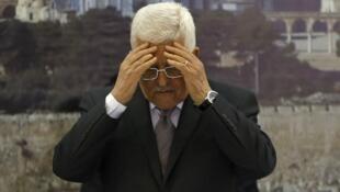 Mahmoud Abbas, le 10 décembre 2014.