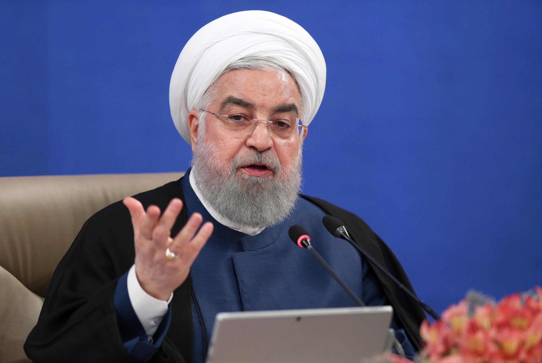 Tổng thống Iran Hassan Rohani.