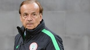 Nigeria's coach Gernot Rohr oversaw the Super Eagles' qualification for Russia in October 2017