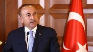 مولود چاووشاوغلو، وزیر امور خارجه ترکیه