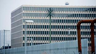 Les bureaux du Service de renseignement allemand, à Berlin, Allemagne. Photo datée d'avril 2015.