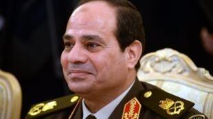 Aliyekuwa mkuu wa majeshi wa Misri, Abdel Fatah al-Sisi kula kiapo cha kuiongoza Misri