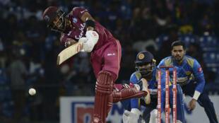 Home star: West Indies batsman Sunil Ambris
