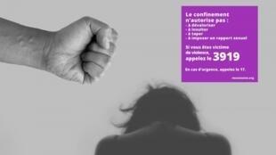 O governo intensifica as campanhas de sensibilização contra a violência domestica