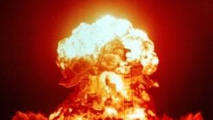 Tham vọng hạt nhân của Bắc Triều Tiên khiến thế giới lo ngại. Trong ảnh, một vụ thử hạt nhân thập niên 1950 tại Mỹ.