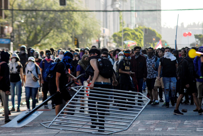 Les Chiliens manifestent depuis le 18 octobre 2019.