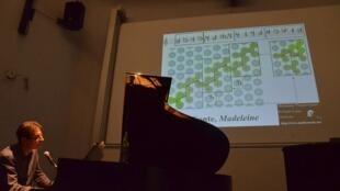 Le mathématicien et pianiste Moreno Andreatta.