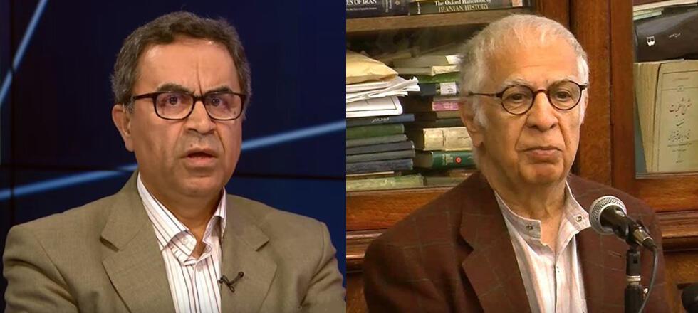 امیر طاهری، روزنامهنگار و کارشناس سیاسی و رضا علیجانی، فعال سیاسی