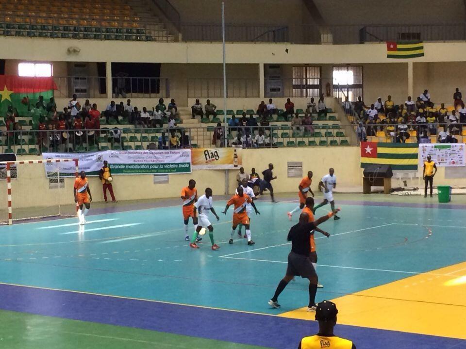 Partida entre o Mali e a Costa do Marfim pela Copa Africana de Nações disputada em Uagadugu, capital do Burkina Faso.